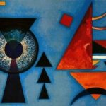 The interplay of color and form as Kandinsky explored and linked to spirituality