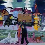 """""""The bridge"""" Connecting the past with the present, society with ideologies of the expressionist artist Kirchner"""
