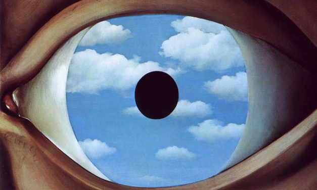 The conflict between the visible that we see and the visible that is hidden in Rene Magritte's fascinating world full of contrasting ideas