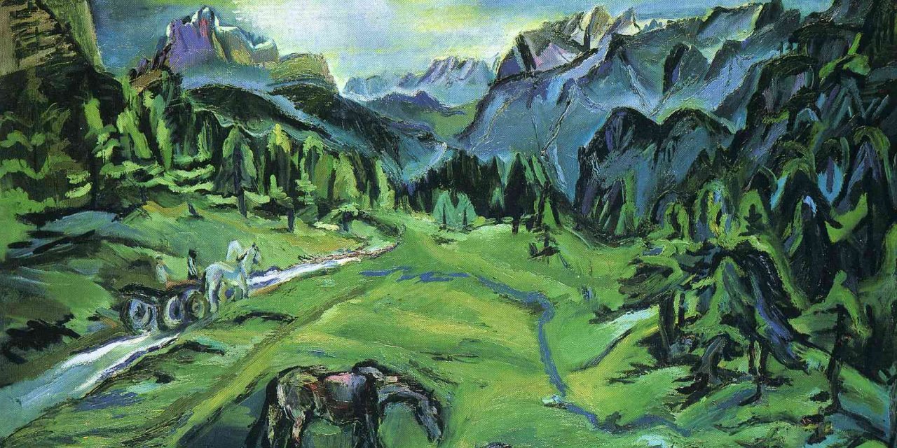 Oskar Kokoschka and making the invisible forces visible, while they shape the essential human condition
