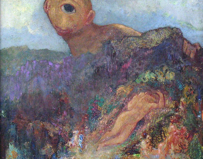 Inspiration for us in the 21st century Odilon Redon and his imaginary world that taps into the nightmare and the lightness of being simultaneously