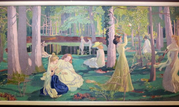 Maurice Denis at the intersection of styles bridging the gap between impressionism and the beginning of 20th century movements