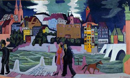 """The bridge"" Connecting the past with the present, society with ideologies of the expressionist artist Kirchner"
