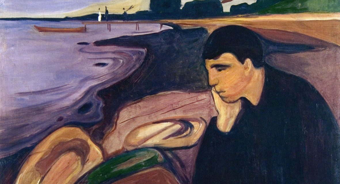 States of mind and psychological positions portrayed through the mind and vision of Edvard Munch