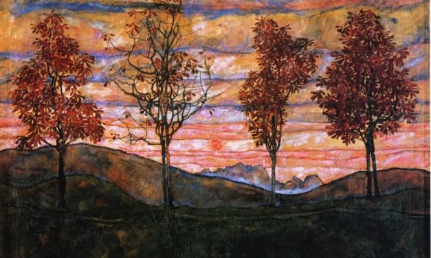 Egon Schiele opens the world of visual distortion and traveling away from traditional, conventional and the definition of beauty is in the other world